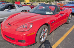 2012 Corvette Red Royalty Free Stock Photo