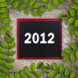 2012 with creepers Royalty Free Stock Images