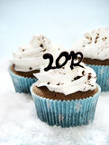 2012 cupcakes Stock Images