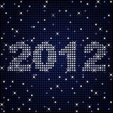 2012 dans les étincelles illustration libre de droits