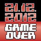 2012 date of apocalypse. Game Over - illustration Royalty Free Illustration