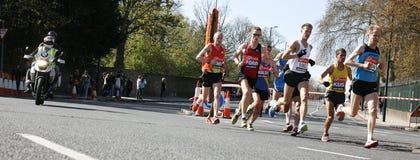 2012, de agent van de Marathon van Londen Stock Fotografie