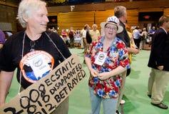 2012 de Democratische Overeenkomst van Vermont Stock Foto