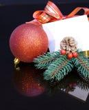 2012 de gift van Kerstmis. Stock Foto