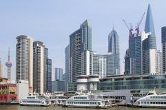 2012 de horizon van Shanghai Royalty-vrije Stock Foto's