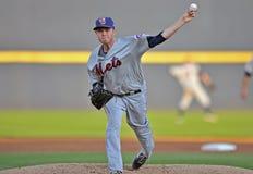 2012 de Minder belangrijke actie van het Honkbal van de Liga Royalty-vrije Stock Foto's
