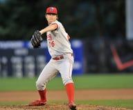 2012 de Minder belangrijke Actie van het Honkbal van de Liga Stock Fotografie