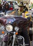 2012 de Motorrijders van de Parade van de Kom van de Fiesta Stock Afbeeldingen