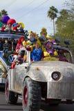 2012 de Overmaatse Auto's van de Parade van de Kom van de Fiesta Royalty-vrije Stock Afbeelding