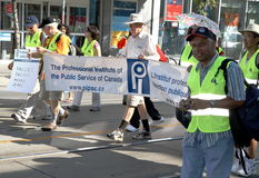 2012 de Parade van de Dag van de Arbeid van Toronto Stock Afbeelding