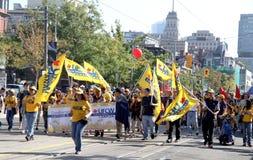 2012 de Parade van de Dag van de Arbeid van Toronto Royalty-vrije Stock Afbeelding