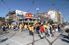 2012 de Parade van de Dag van de Arbeid van Toronto Royalty-vrije Stock Afbeeldingen