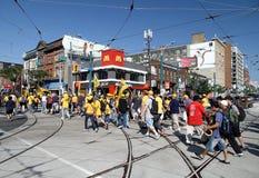 2012 de Parade van de Dag van de Arbeid van Toronto Royalty-vrije Stock Fotografie