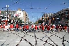 2012 de Parade van de Dag van de Arbeid van Toronto Stock Foto's