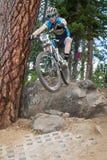 2012 de Reeksen van Oregon Enduro rennen #1: Kromming, OF Royalty-vrije Stock Afbeelding