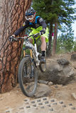 2012 de Reeksen van Oregon Enduro rennen #1: Kromming, OF Stock Afbeelding