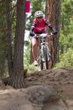 2012 de Reeksen van Oregon Enduro rennen #1: Kromming, OF Royalty-vrije Stock Afbeeldingen