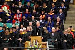2012 de remise des diplômes d'université de Clarkson Photo stock