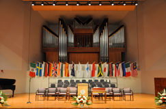 2012 de remise des diplômes de SUNY Potsdam Images stock