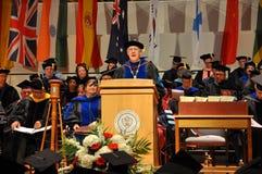 2012 de remise des diplômes de SUNY Potsdam Photos stock
