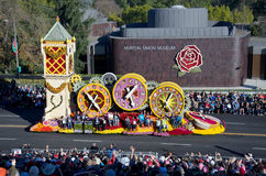 2012 de toernooien van Rozen parade-schenken het Leven Royalty-vrije Stock Afbeeldingen