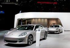 2012 de Vertoning van Porsche Stock Foto