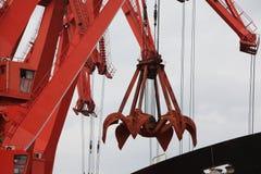In 2012, declino della Cina nella domanda del minerale ferroso Fotografie Stock