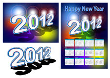 2012 design element Royalty Free Stock Photography