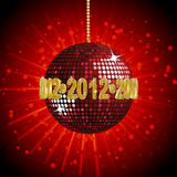 2012 disco ball2 Stock Images