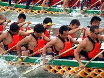 The 2012 Dragon Boat Races in Kaohsiung Stock Images