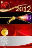 2012 drapeaux Photos libres de droits
