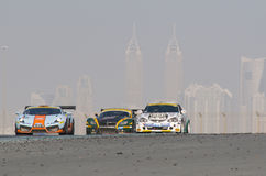 2012 Dunlop 24 Hours Race in Dubai Stock Photos