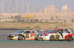 2012 Dunlop 24 Hours Race in Dubai Stock Images