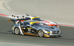2012 Dunlop 24 Hours Race in Dubai Royalty Free Stock Images