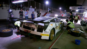 2012 Dunlop 24 Hours Race in Dubai Royalty Free Stock Photo