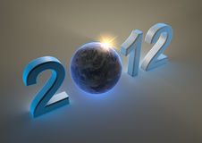 2012 with the earth Stock Images