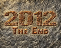 2012 The End Royalty Free Stock Images
