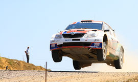 2012 ERC Bosphorus Rally Stock Image