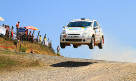 2012 ERC Bosphorus Rally Stock Photo