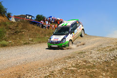 2012 ERC Bosphorus Rally Royalty Free Stock Photo
