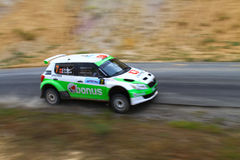 2012 ERC Bosphorus Rally Royalty Free Stock Images
