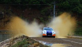 2012 ERC Bosphorus Rally Royalty Free Stock Image
