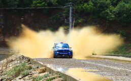 2012 ERC Bosphorus Rally Stock Photography