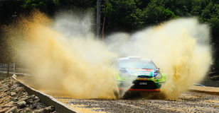 2012 ERC Bosphorus Rally Stock Photos