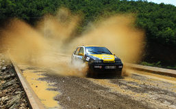 2012 ERC Bosphorus Rally Royalty Free Stock Photos