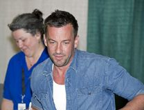 2012 escroquerie comique de Philadelphie - Craig Parker Photo libre de droits
