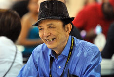 2012 escroquerie comique de Philadelphie - James Hong Photographie stock libre de droits
