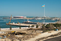2012 Eurovision miejsce wydarzenia Obraz Royalty Free