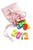 2012 Felices Año Nuevo Fotografía de archivo