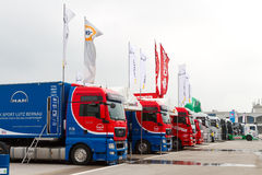 2012 FIA European Truck Racing Championship Stock Photography